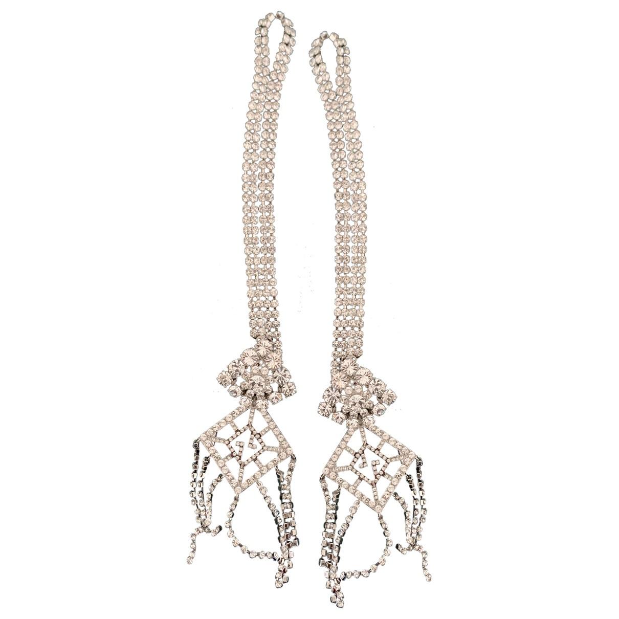 Gucci \N Taschenschmuck in  Silber Kristall