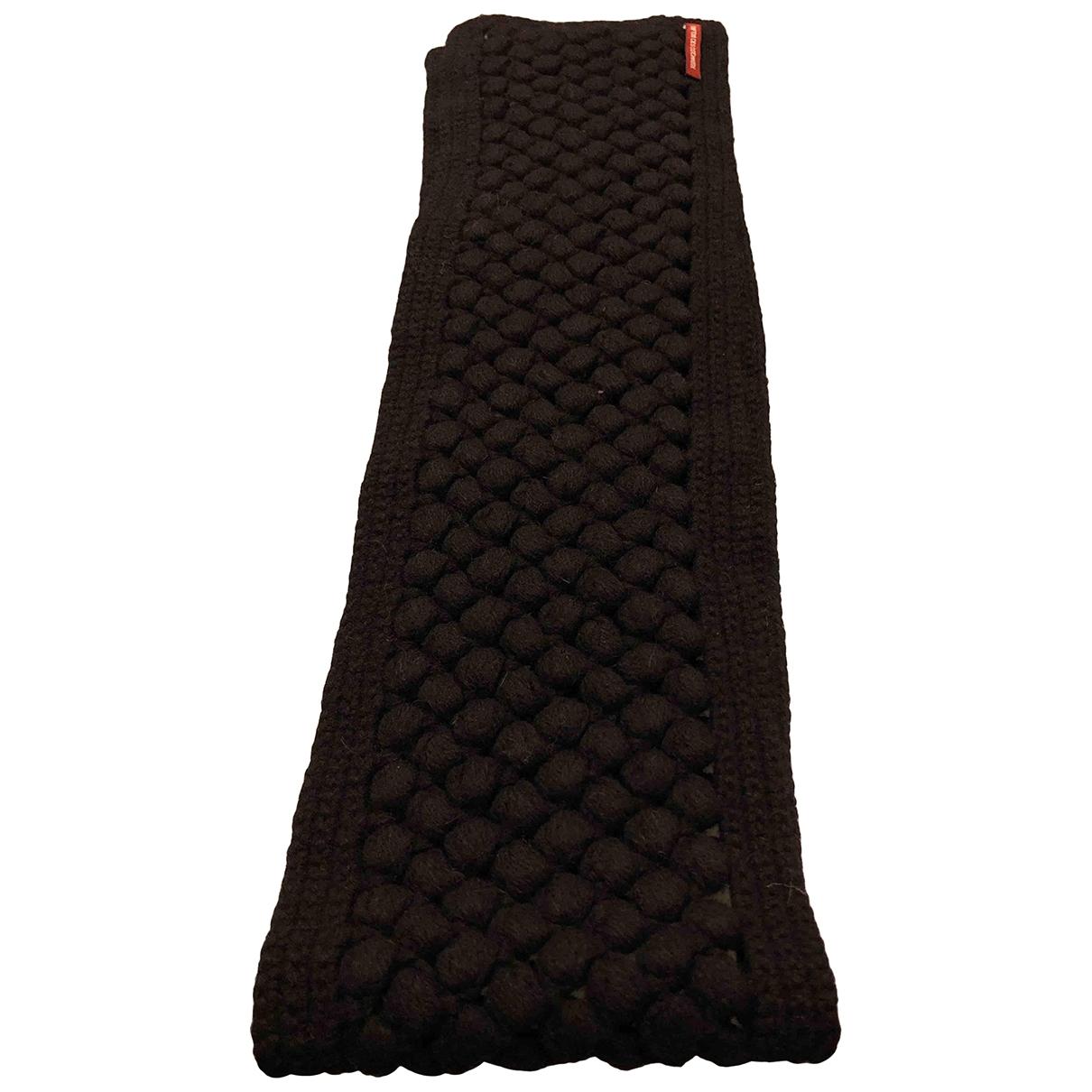 Comptoir Des Cotonniers \N Black Wool scarf for Women \N