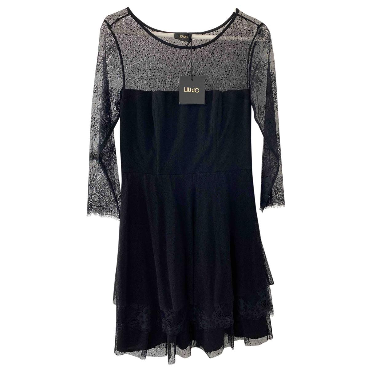 Liu.jo N Black dress for Women 42 IT