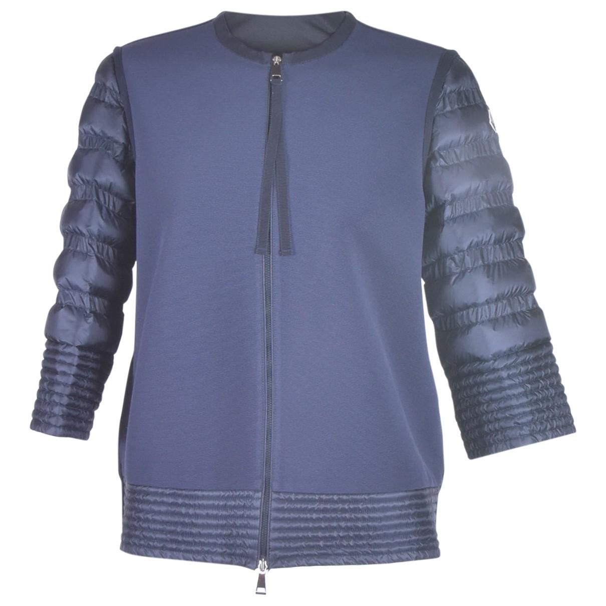 Moncler \N Blue Cotton jacket for Women L International