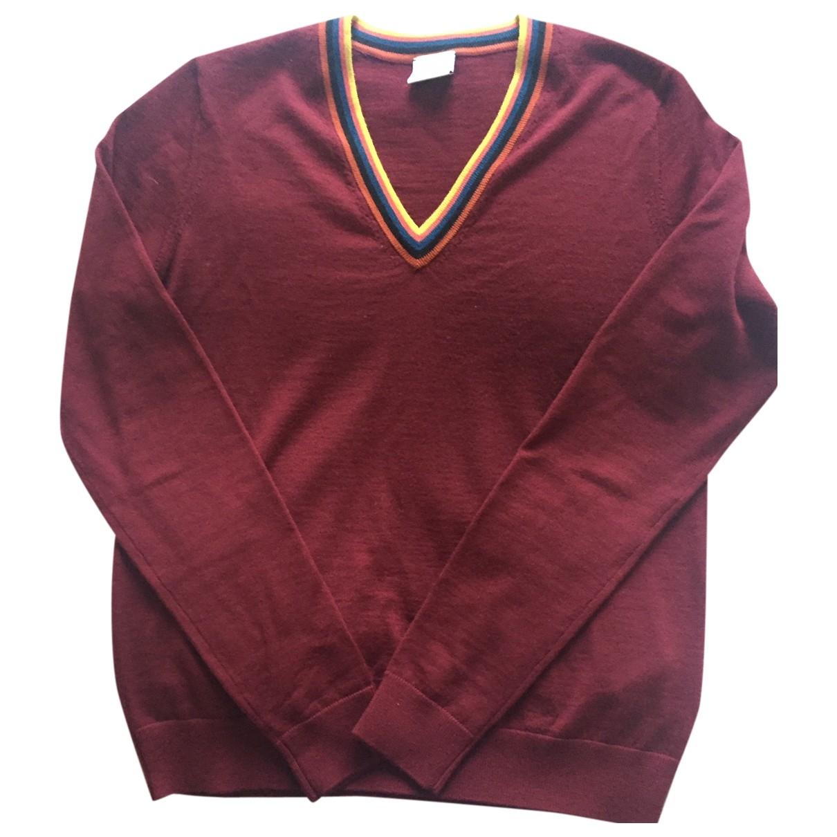 Paul Smith \N Burgundy Wool Knitwear for Women 36 FR