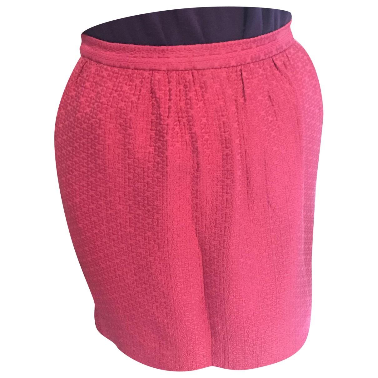 Sandro - Jupe   pour femme en coton - rose