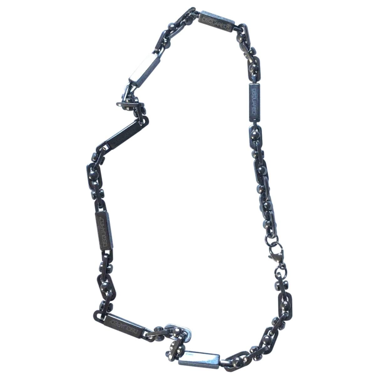 Collar de Plata Dsquared2