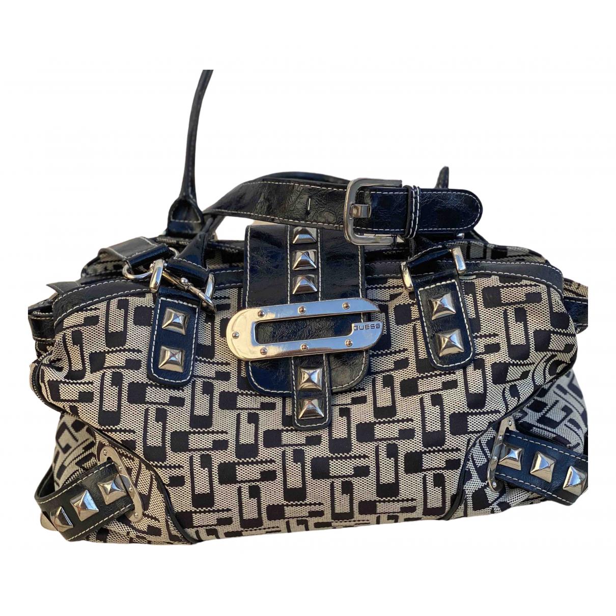 Guess N Beige Cloth handbag for Women N