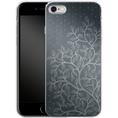 Apple iPhone 6s Silikon Handyhuelle - Tree von Daniel Martin Diaz