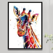 Diamand Malerei mit Giraffe Muster ohne Rahmen