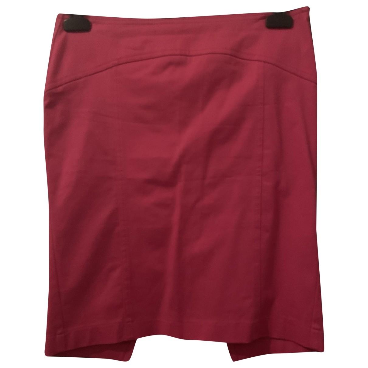 - Jupe   pour femme en coton - rose