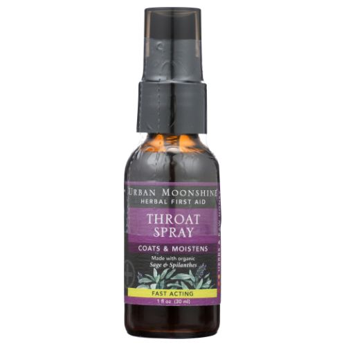 Throat Spray 1 Oz by Urban Moonshine