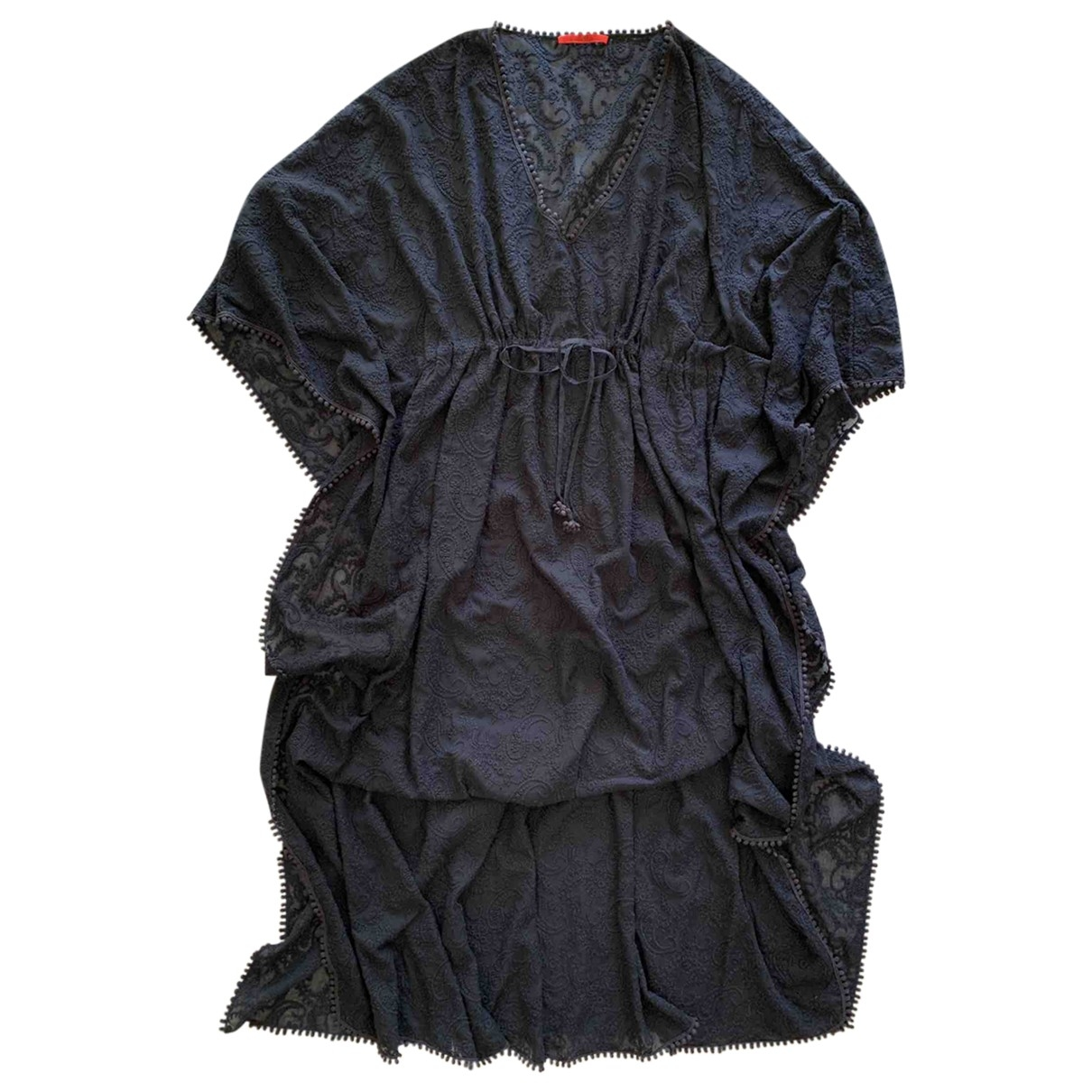 Carolina Herrera \N Blue Lace dress for Women L International