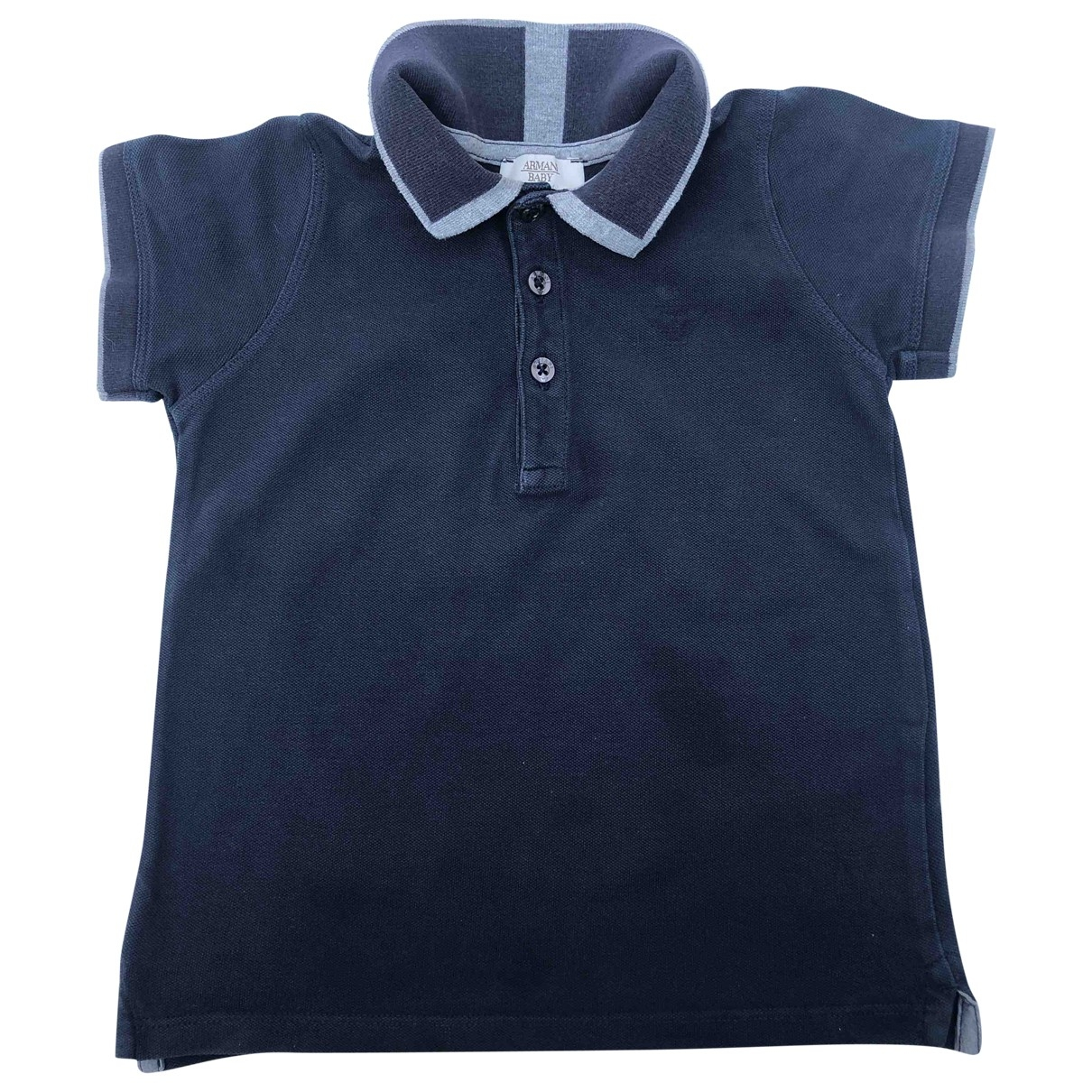 Armani Baby \N Navy Cotton  top for Kids 3 years - until 39 inches UK