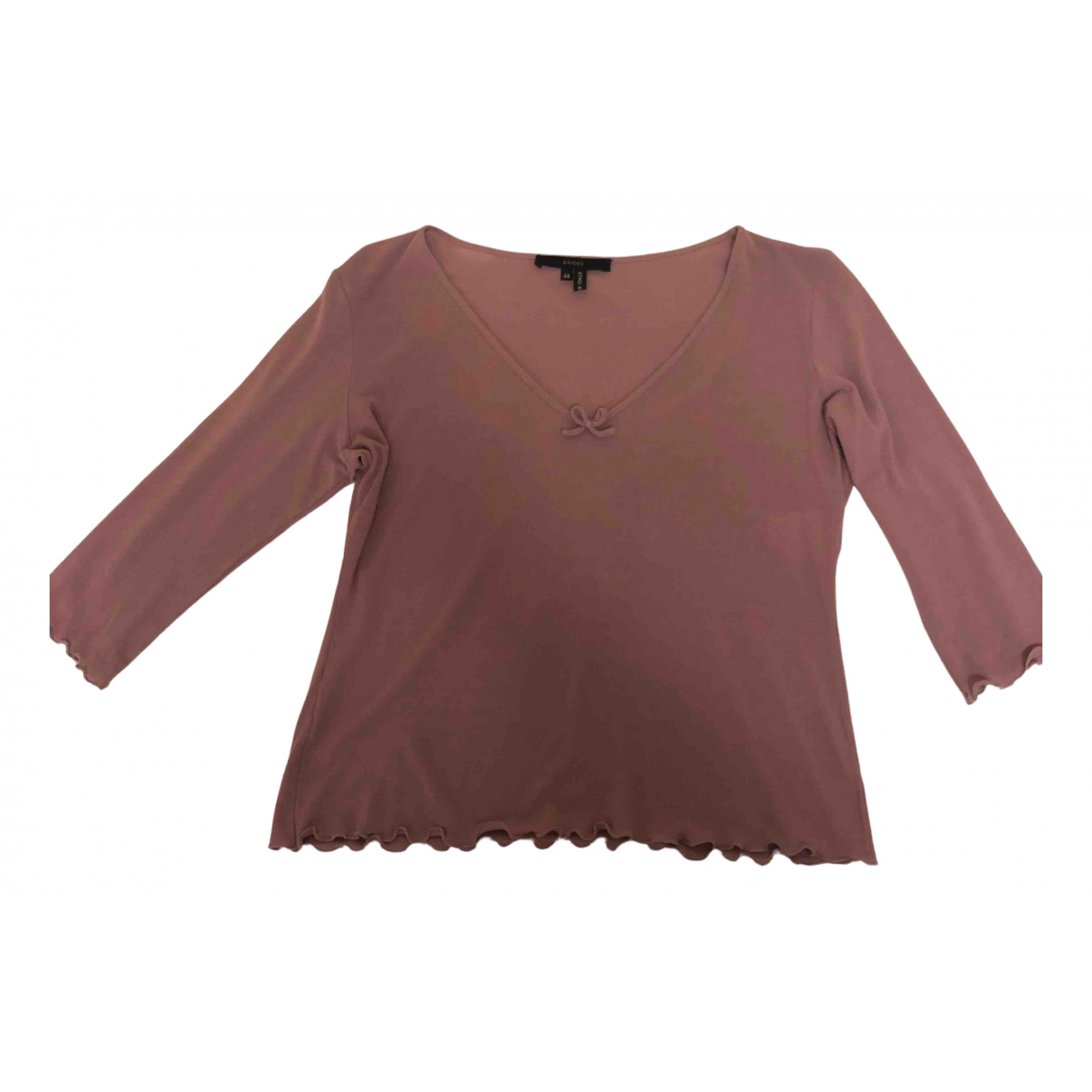 Gucci N Pink Cotton  top for Women 44 FR