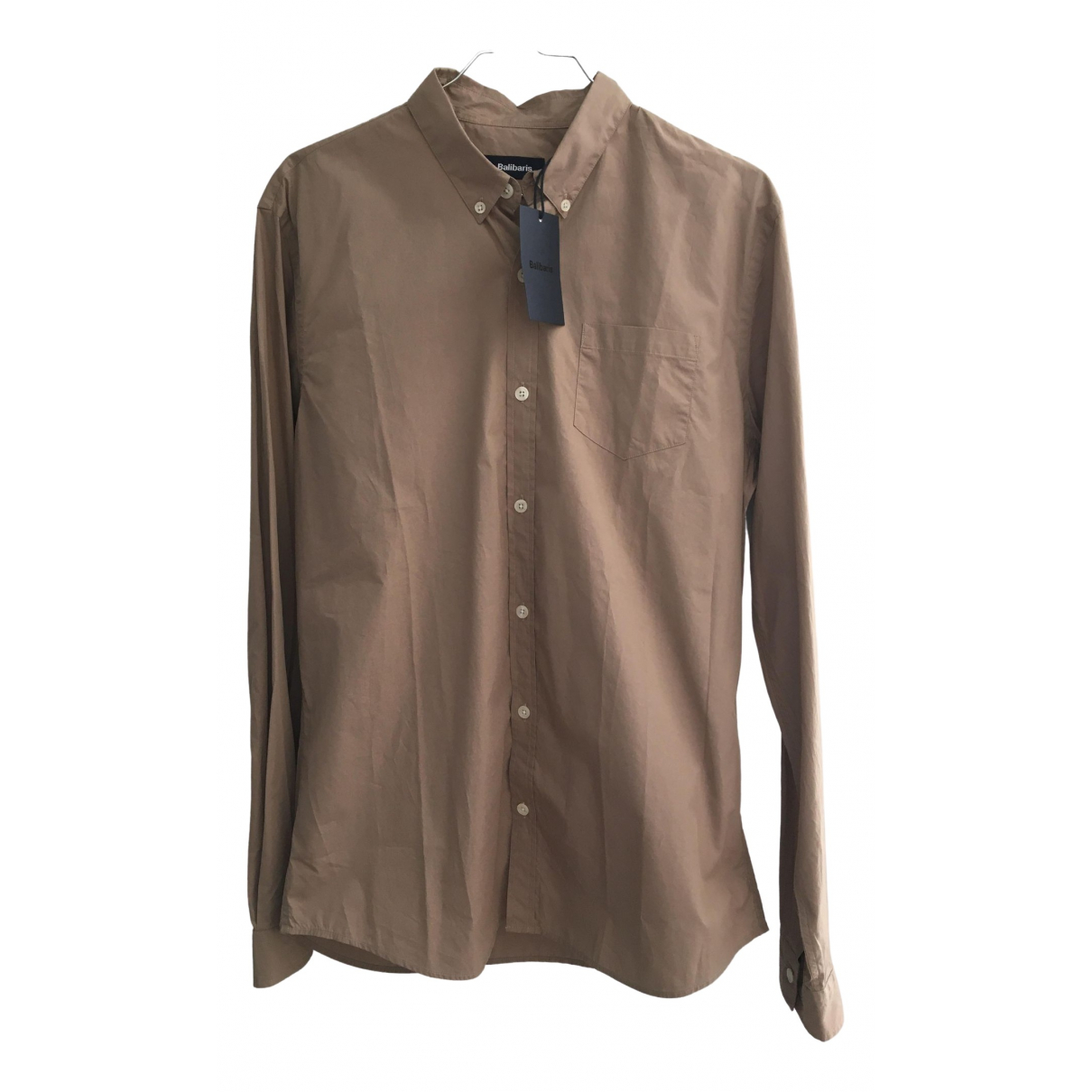 Balibaris \N Beige Cotton Shirts for Men M International