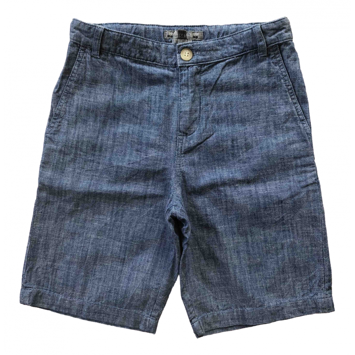 Bonpoint \N Shorts in  Blau Baumwolle