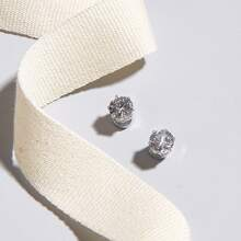 Guys Rhinestone Earrings