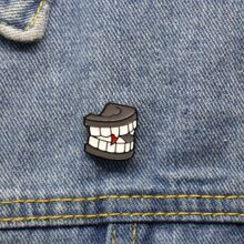 Teeth Design Brooch