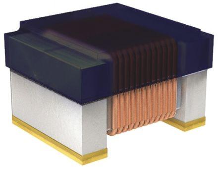 Wurth Elektronik Wurth, WE-RFH, 1008 Shielded Wire-wound SMD Inductor with a Ferrite Core, 10 μH ±5% Ferrite Core 300mA Idc (5)