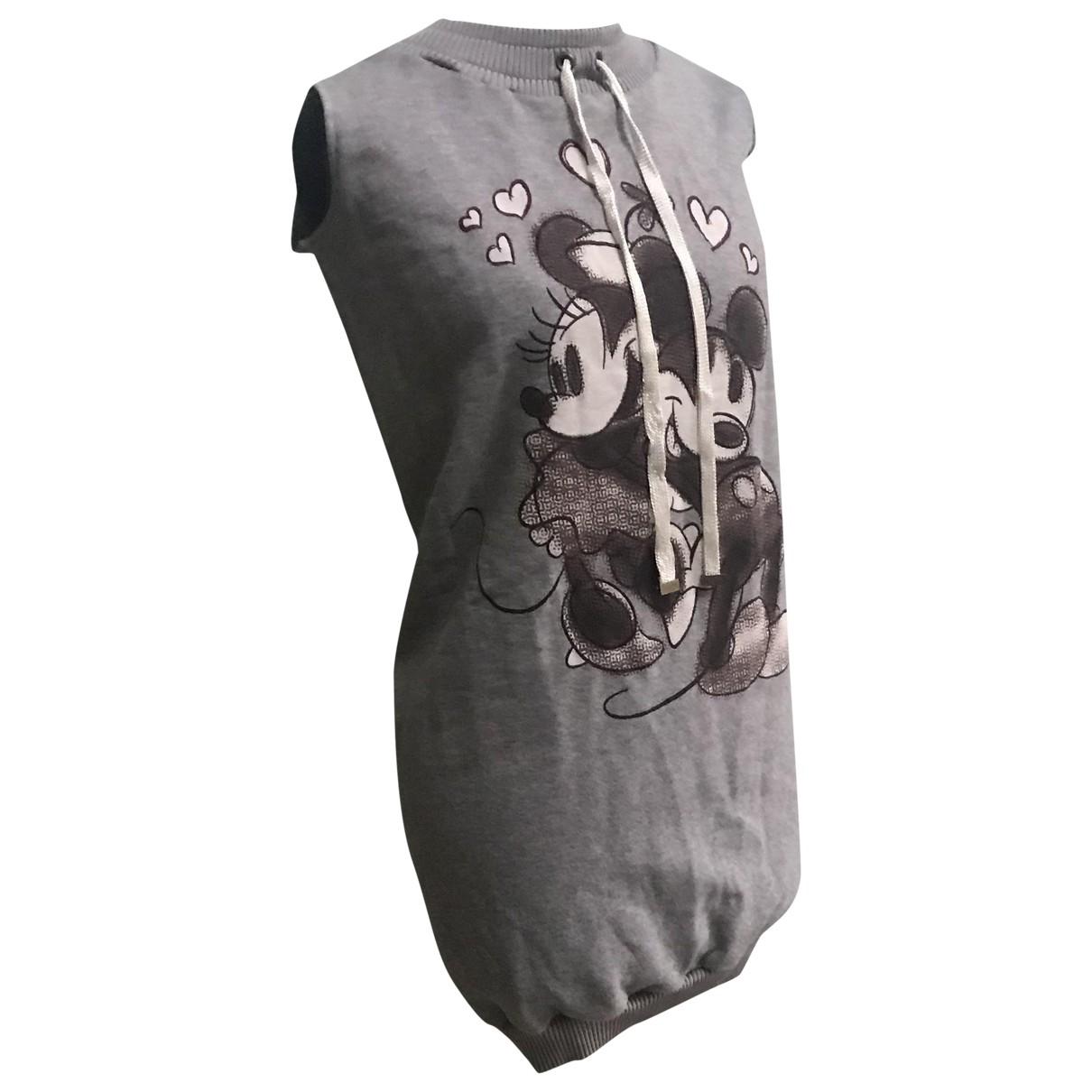 D&g \N Kleid in  Grau Baumwolle