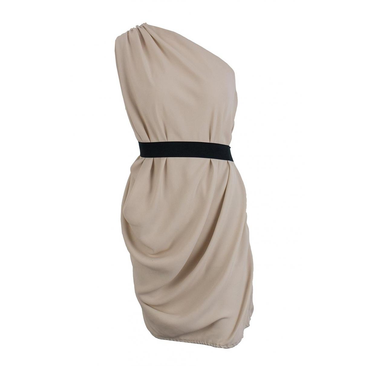 Lanvin \N Beige dress for Women 36 FR