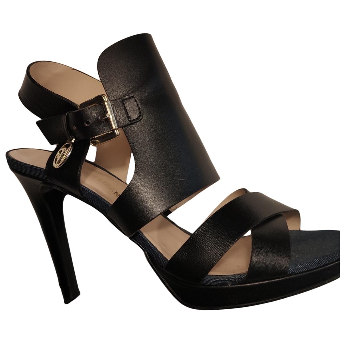 Sandalias romanas de Cuero Trussardi Jeans