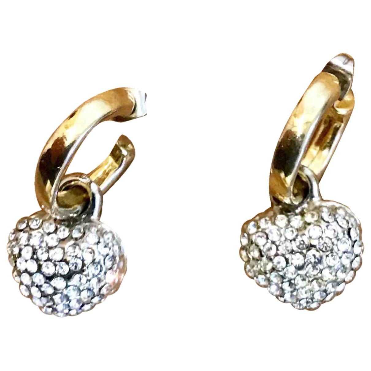 - Boucles d'oreilles Motifs Coeurs pour femme en metal - dore