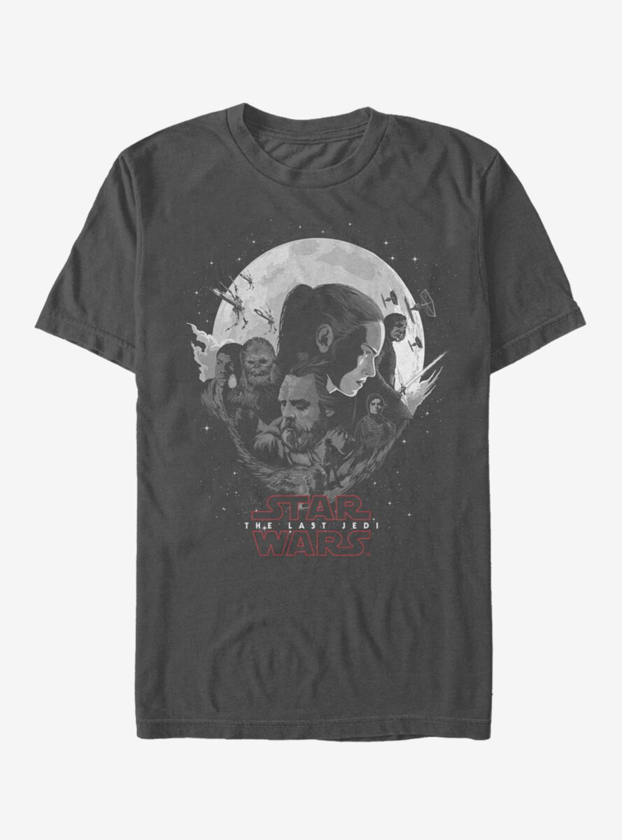 Star Wars Planet Logo T-Shirt