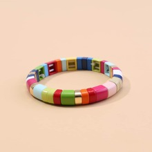 1 Stueck Armband mit Farbblock