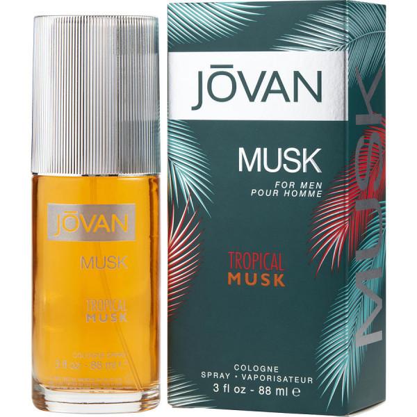 Tropical Musk - Jovan Eau de Cologne Spray 88 ml