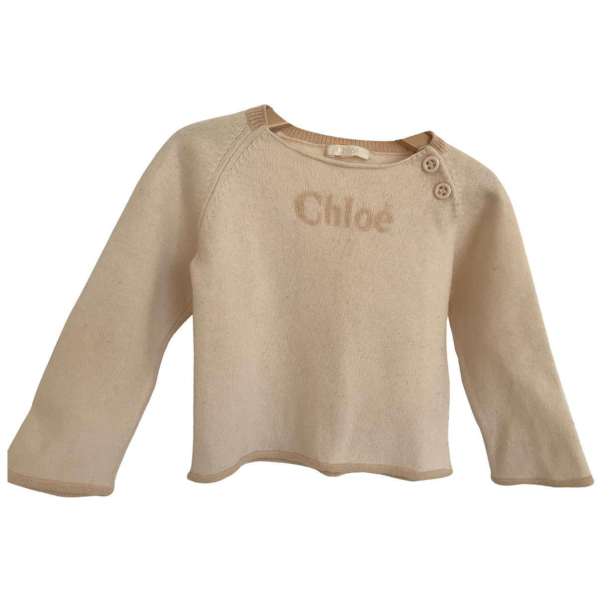Chloe - Pull   pour enfant en coton - rose