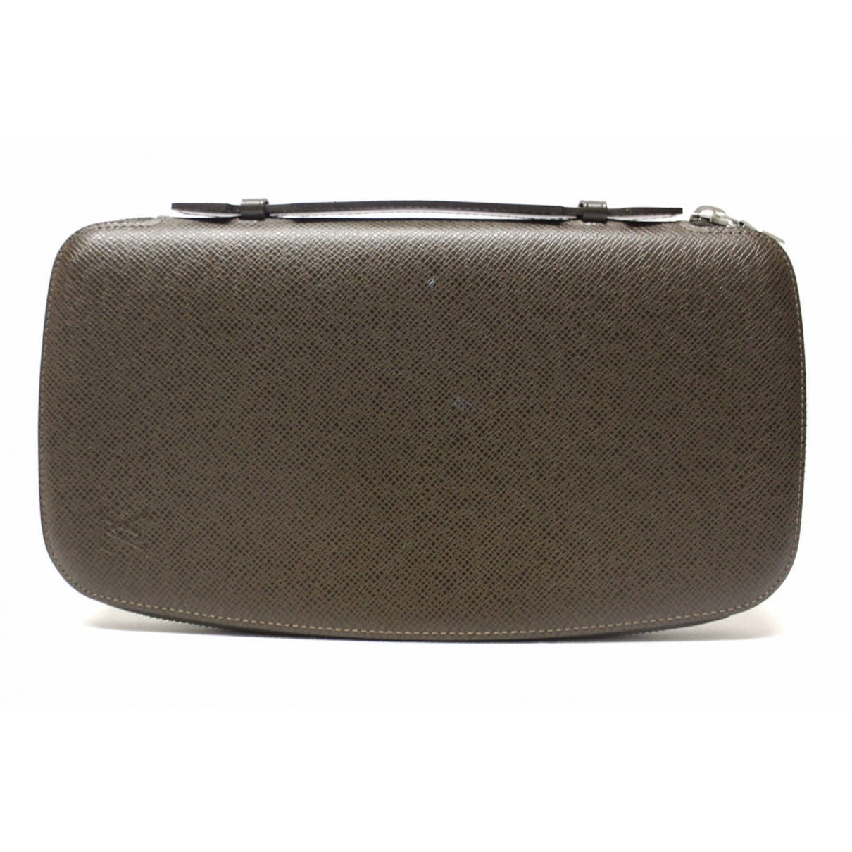 Louis Vuitton \N Portemonnaie in  Braun Leder