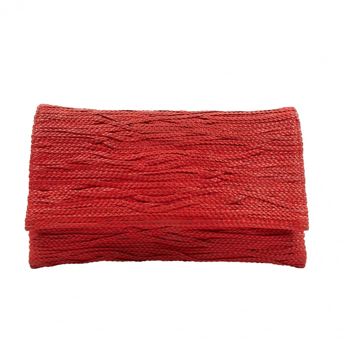 Jay Ahr \N Clutch in  Rot Leder