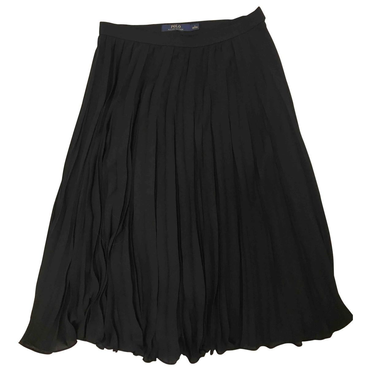 Falda midi de Seda Polo Ralph Lauren
