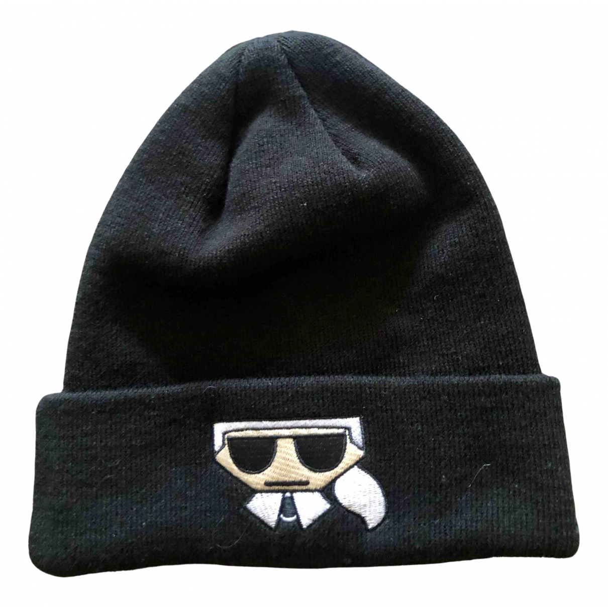 Karl Lagerfeld N Black Wool hat for Women S International