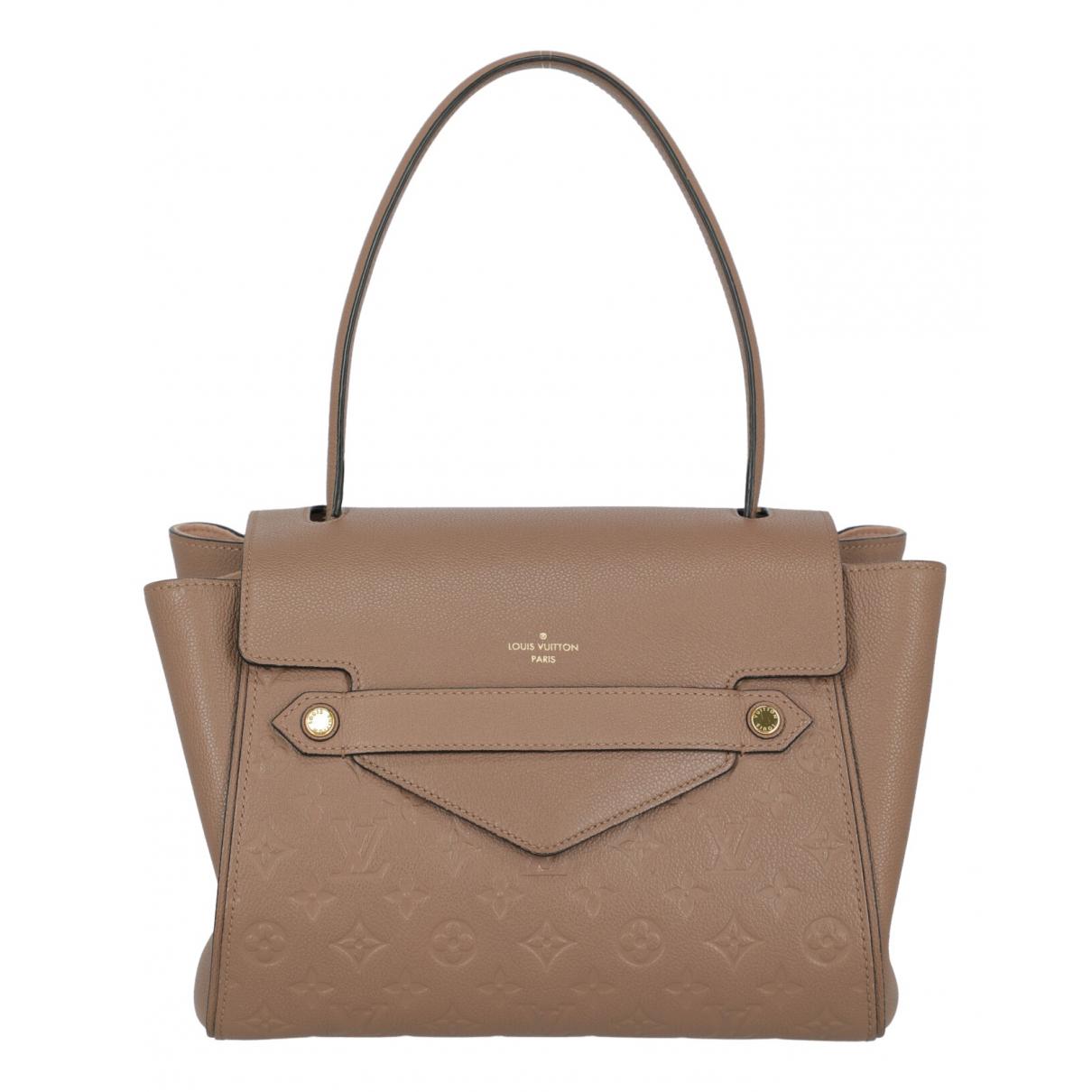Louis Vuitton \N Handtasche in  Rosa Leder