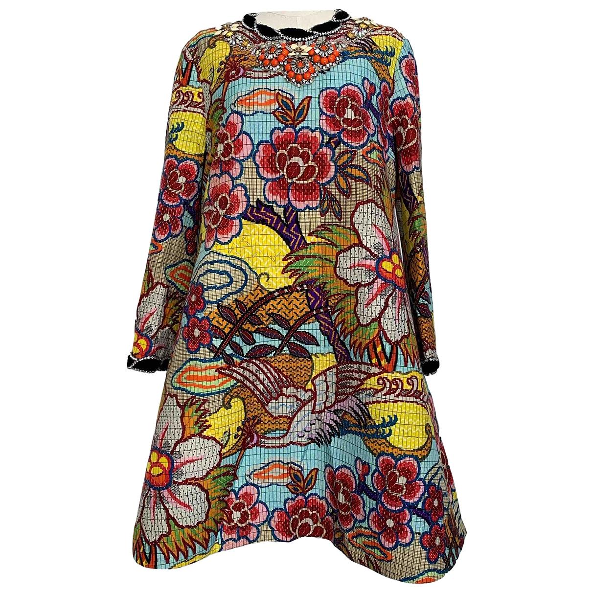 Gucci \N Kleid in  Bunt Wolle