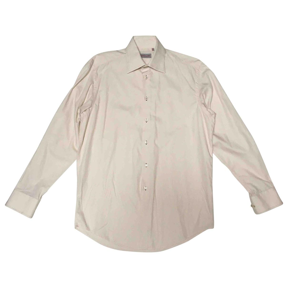 Versace \N Hemden in  Beige Baumwolle