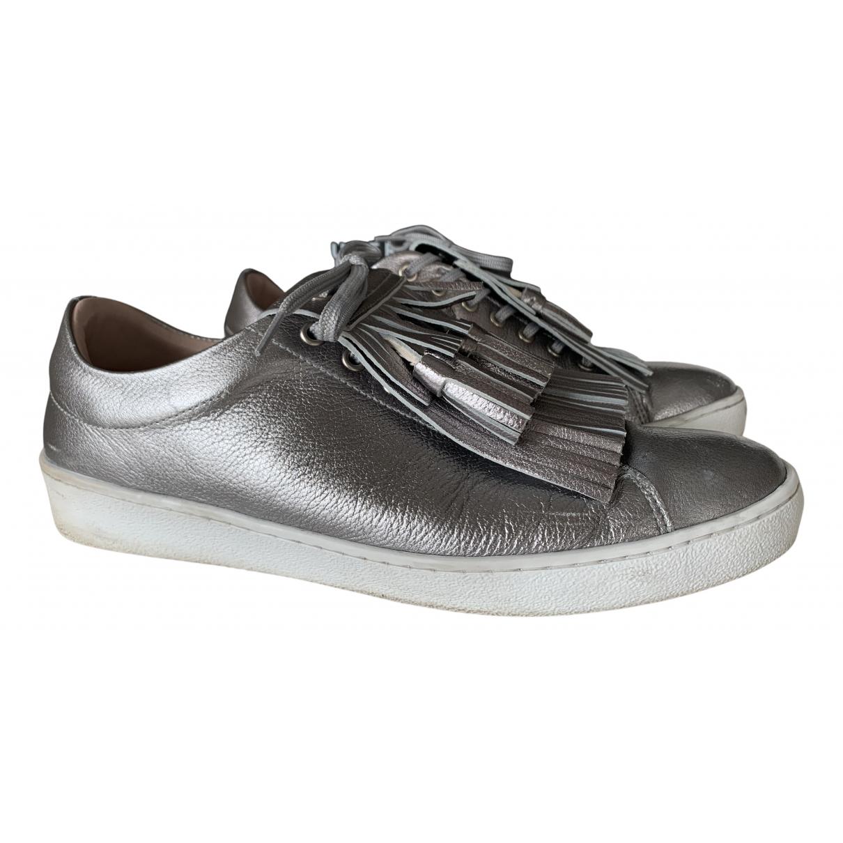 Uterque \N Sneakers in  Metallic Leder