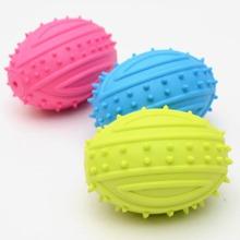 1 Stueck zufaellige Farbe Spielzeug fuer Hund