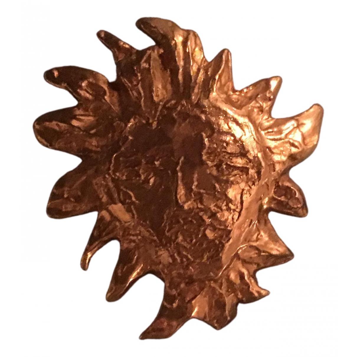 Yves Saint Laurent \N OhrRing in  Gold Stahl