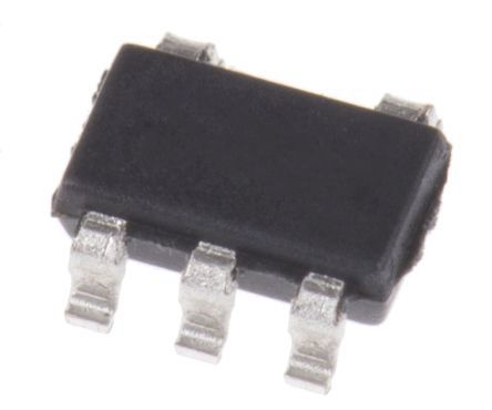 Maxim Integrated MAX6509CAUK+T, Temperature Sensor -40 → +125 °C ±4.7°C, 5-Pin SOT-23 (2500)
