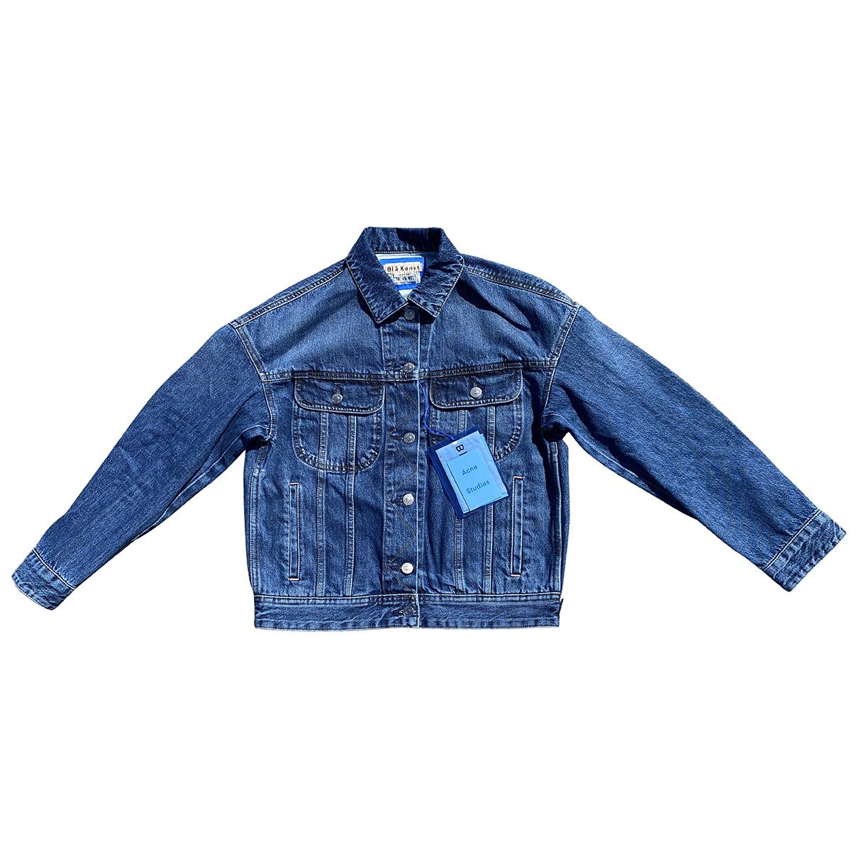 Acne Studios Blå Konst Blue Denim - Jeans jacket for Women 34 FR