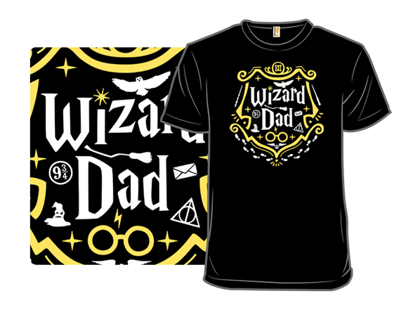 Wizard Dad T Shirt