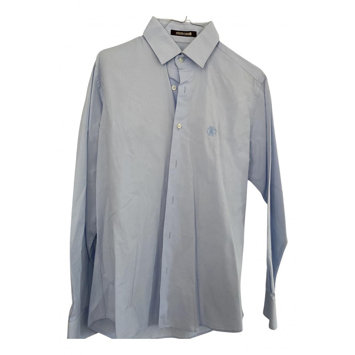 Roberto Cavalli - Chemises   pour homme - bleu