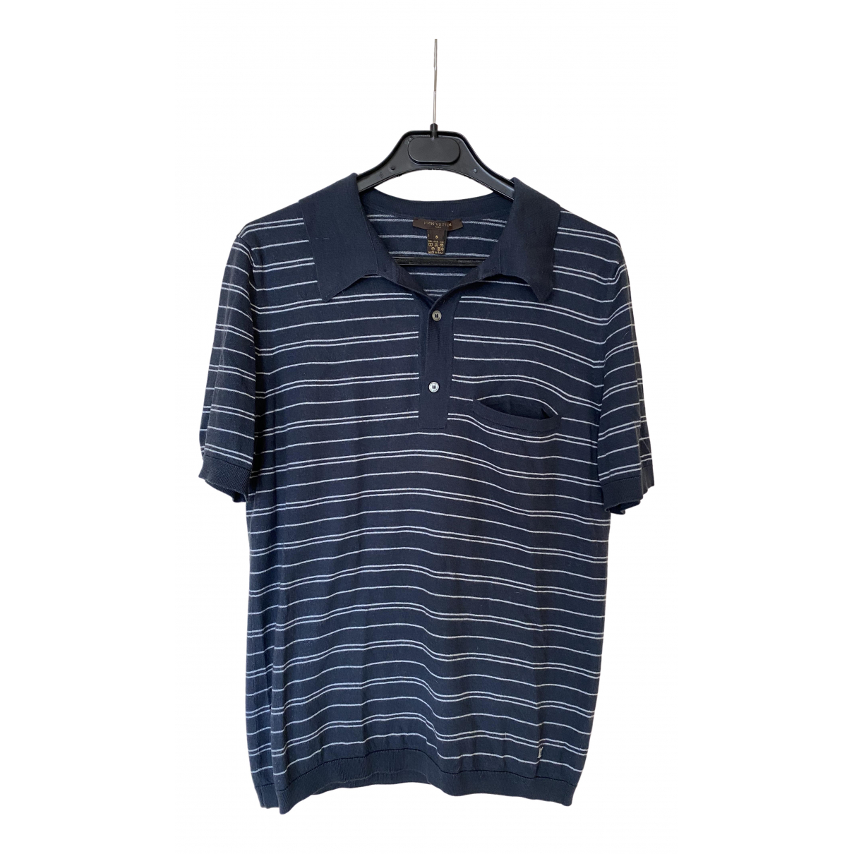 Louis Vuitton - Polos   pour homme en soie - marine