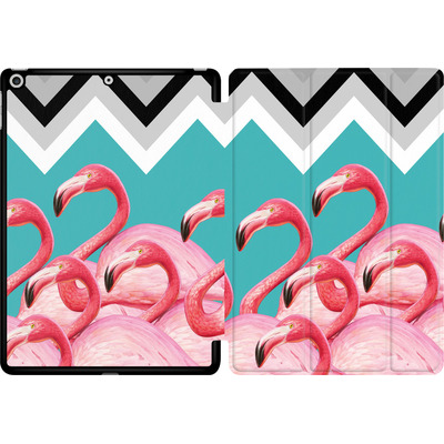 Apple iPad 9.7 (2018) Tablet Smart Case - Flamingo Pattern von Mark Ashkenazi