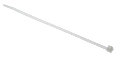 HellermannTyton , T40R Series Natural Nylon Cable Tie, 175mm x 4 mm