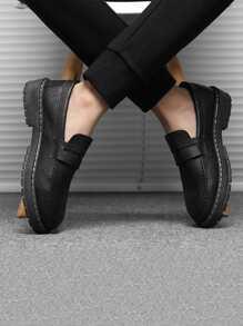 Men Wide Fit Flat Loafers