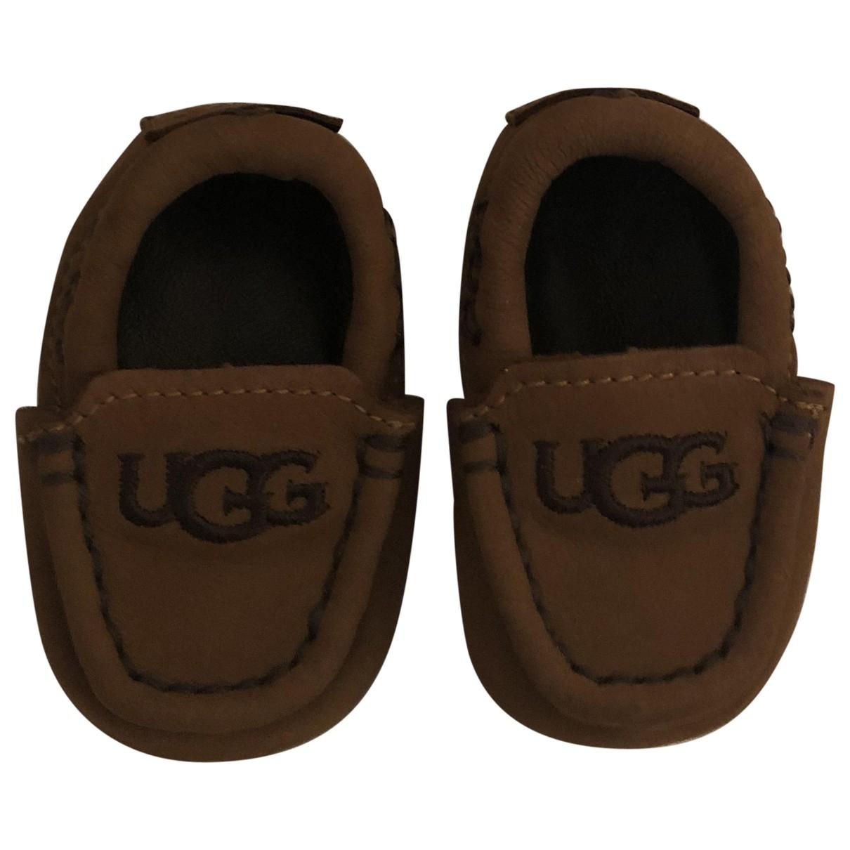 Ugg \N Erste Schritte in  Braun Leder