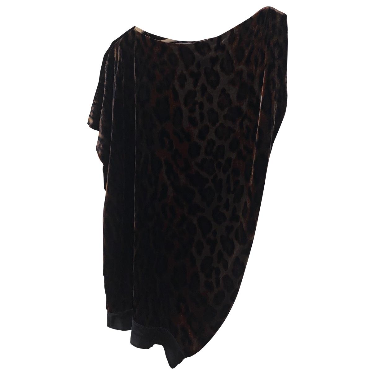 Diane Von Furstenberg \N Kleid in  Bunt Samt