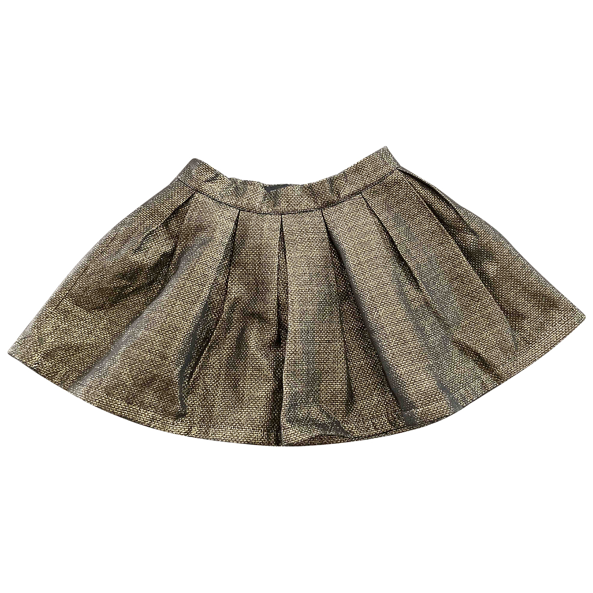 Zadig & Voltaire N Metallic Cotton skirt for Kids 12 years - XS FR