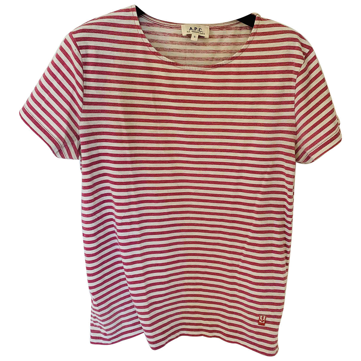 Apc N Pink Cotton T-shirts for Men S International
